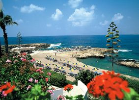 Paphos Hotel Cynthiana Beach Strand